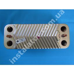 1.022220 Теплообмінник вторинний (пластинчатий) ГВП Immergas Nike Mini 24 kw, Eolo Mini 24 kw, Victrix 24 kw