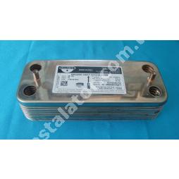 17B1901600 Теплообмінник вторинний (ГВП) 16 пластин ZILMET