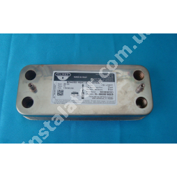 17B1901200 Теплообмінник вторинний ГВП 12 пластин ZILMET