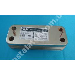 17B1901400 Теплообмінник вторинний (ГВП) 14 пластин ZILMET