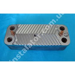 65104333 Теплообмінник вторинний SWEP 16 пластин ARISTON CLASS GENUS BS
