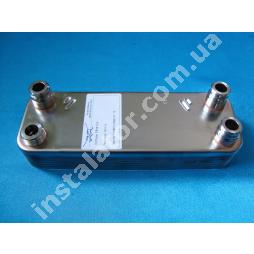 065088 Теплообмінник вторинний ГВП Vaillant 12 пластин TURBOmax, ATMOmax Pro/Plus
