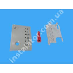 077978 Кришка дисплея (сіра) VAILLANT ATMOmax, TURBOmax Pro
