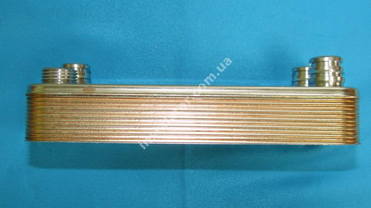 17B1901215 Теплообмінник вторинний (ГВП) 12 пластин ZILMET full-image-0