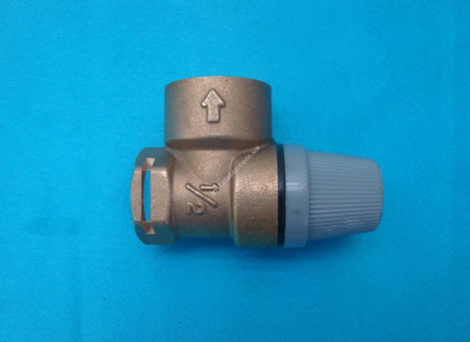 190732 (аналог) Запобіжний клапан  VAILLANT Pro/Plus 3 bar full-image-3