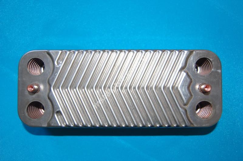 1.022221 Теплообмінник вторинний ГВП IMMERGAS Mini 28 kw, Victrix 28 kw, Mini Special 28 kw full-image-2