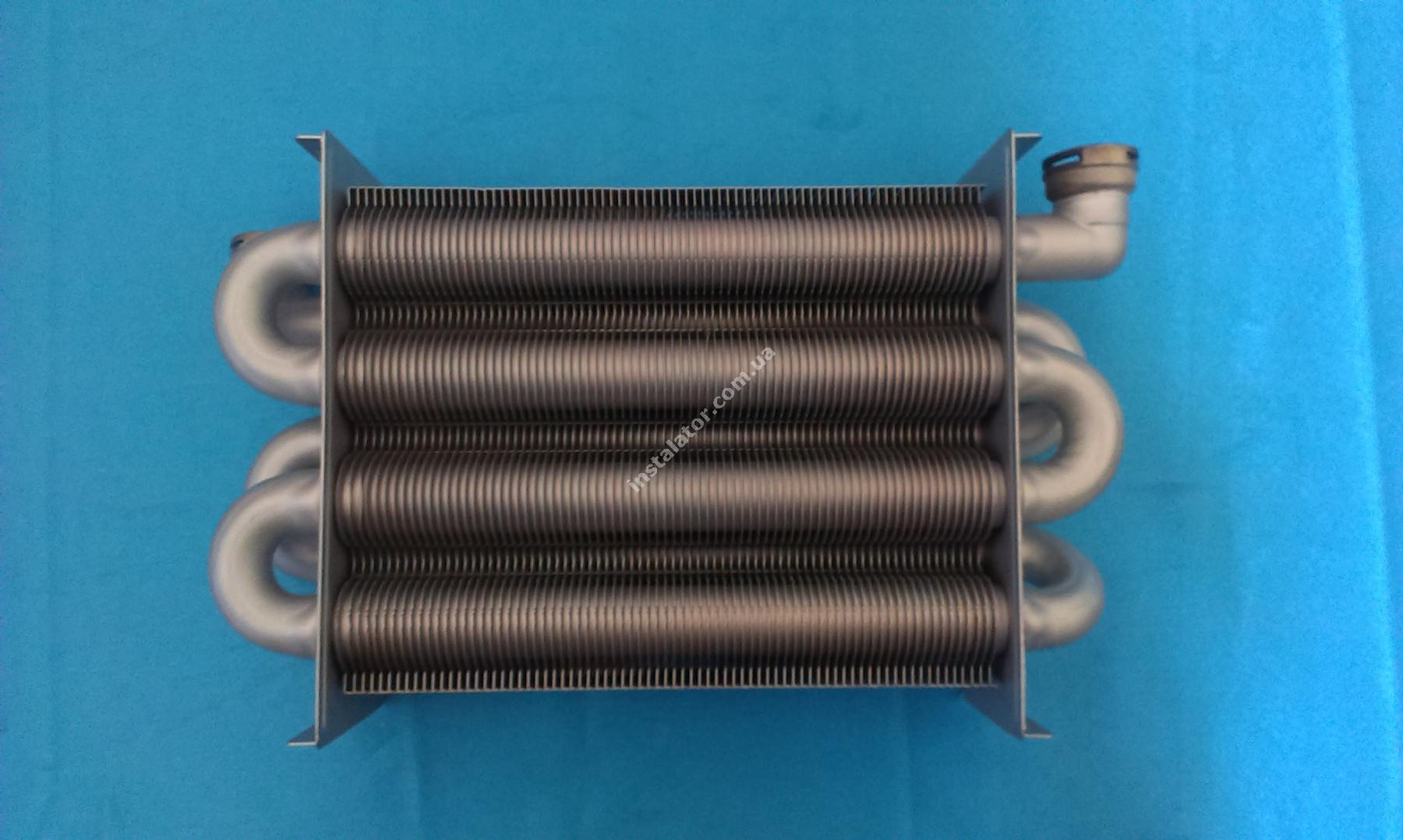 65100425 Теплообмінник первинний ARISTON Uno (турбо) full-image-3