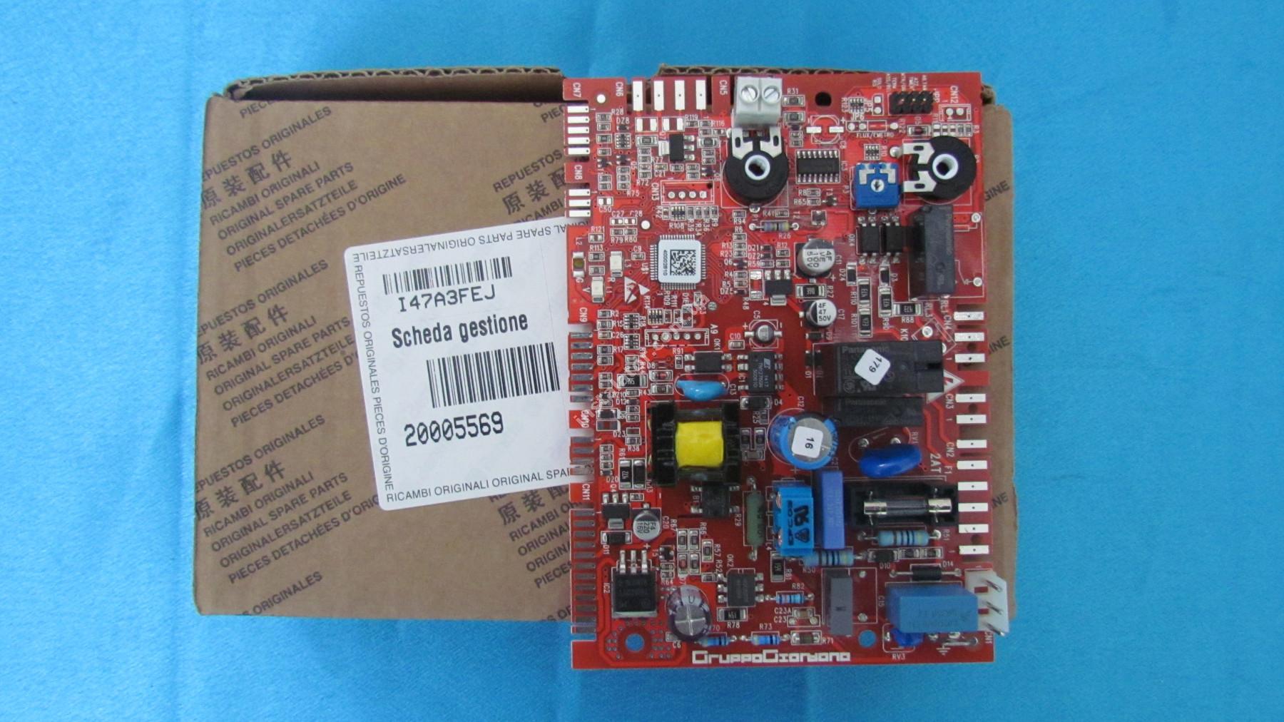 20005569 Плата електронна BERETTA Ciao J MP08 24-28 кВт full-image-1