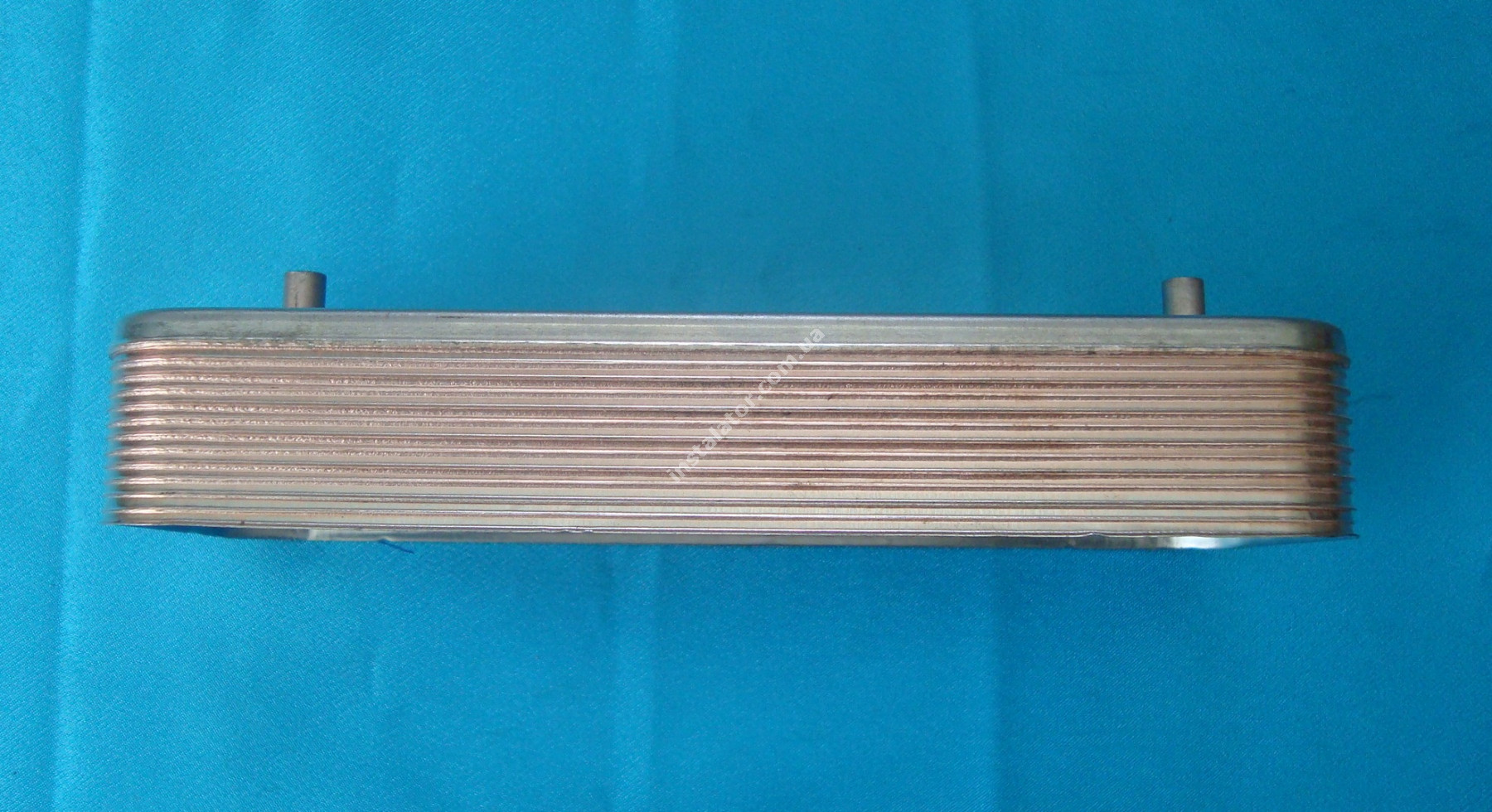 17B1901200 Теплообменник вторичный (ГВП) 12 пластин ZILMET full-image-0