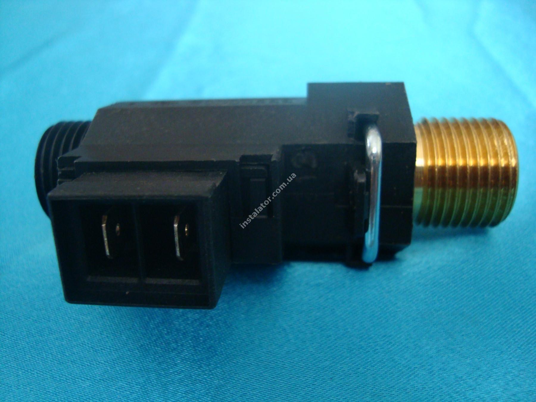 5663770 Реле (датчик) протока BAXI MAIN з підпиткою та заглушкою Bitron full-image-2