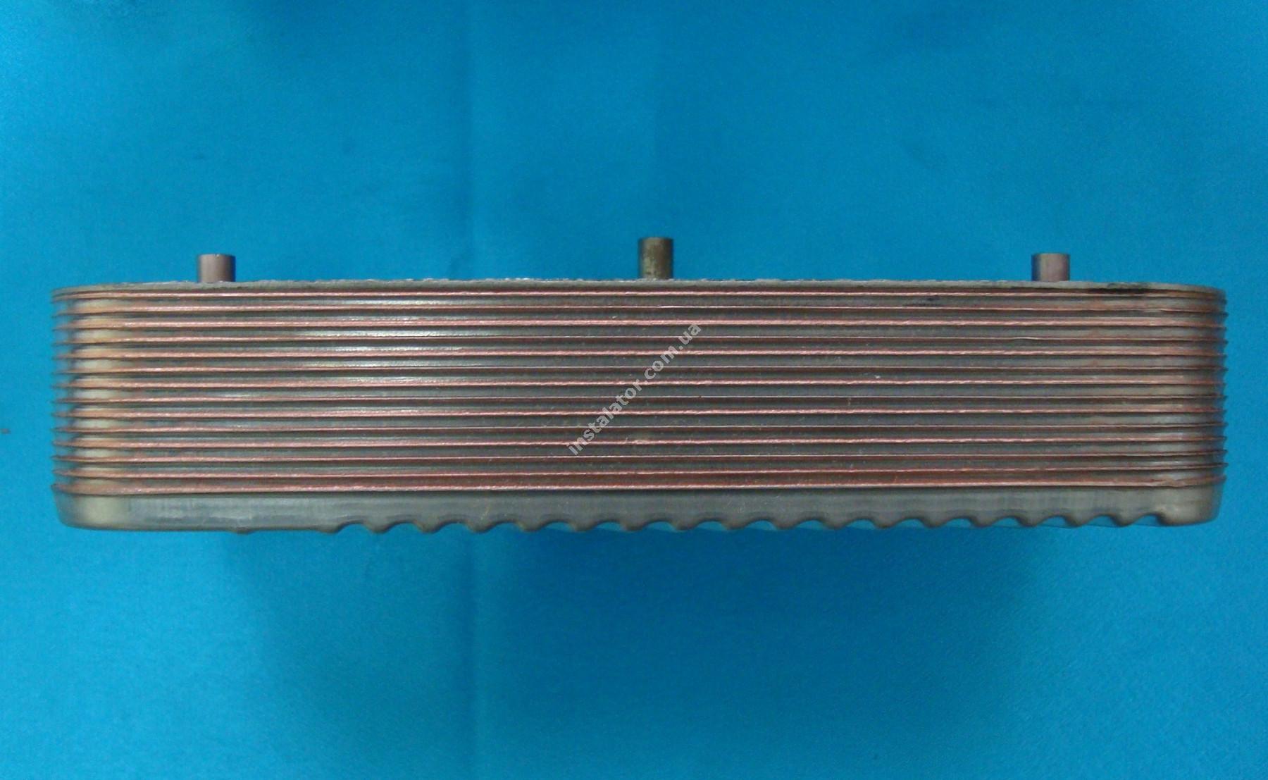 17B1951409 Теплообмінник вторинний Zilmet /SIME Format. Zip BF 14 пластин  full-image-2