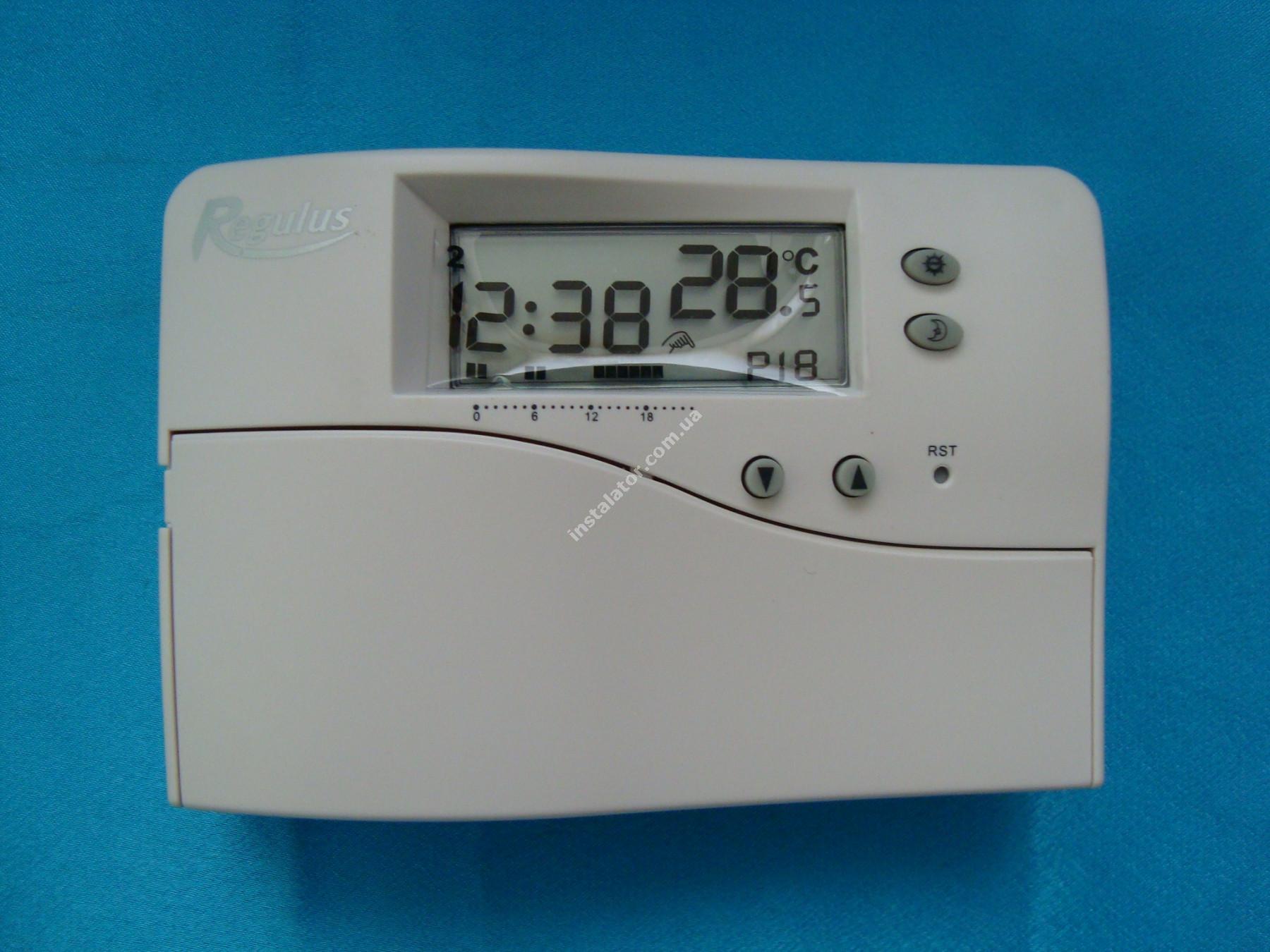 Regulus Термостат - програматор TPO8 full-image-4
