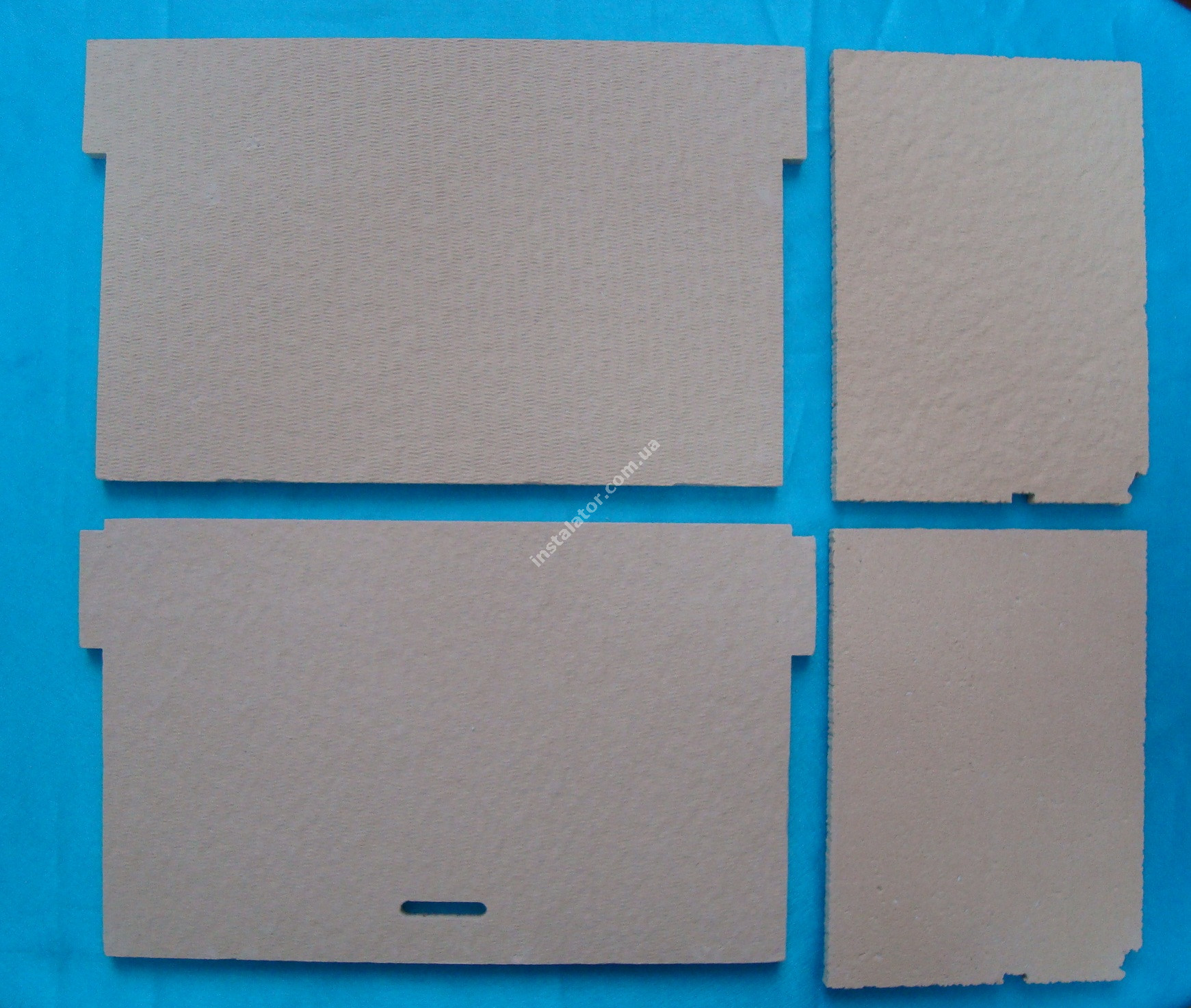 65105029 Термоізоляція камери згорання ARISTON Genus, Glass System (комплект) full-image-2