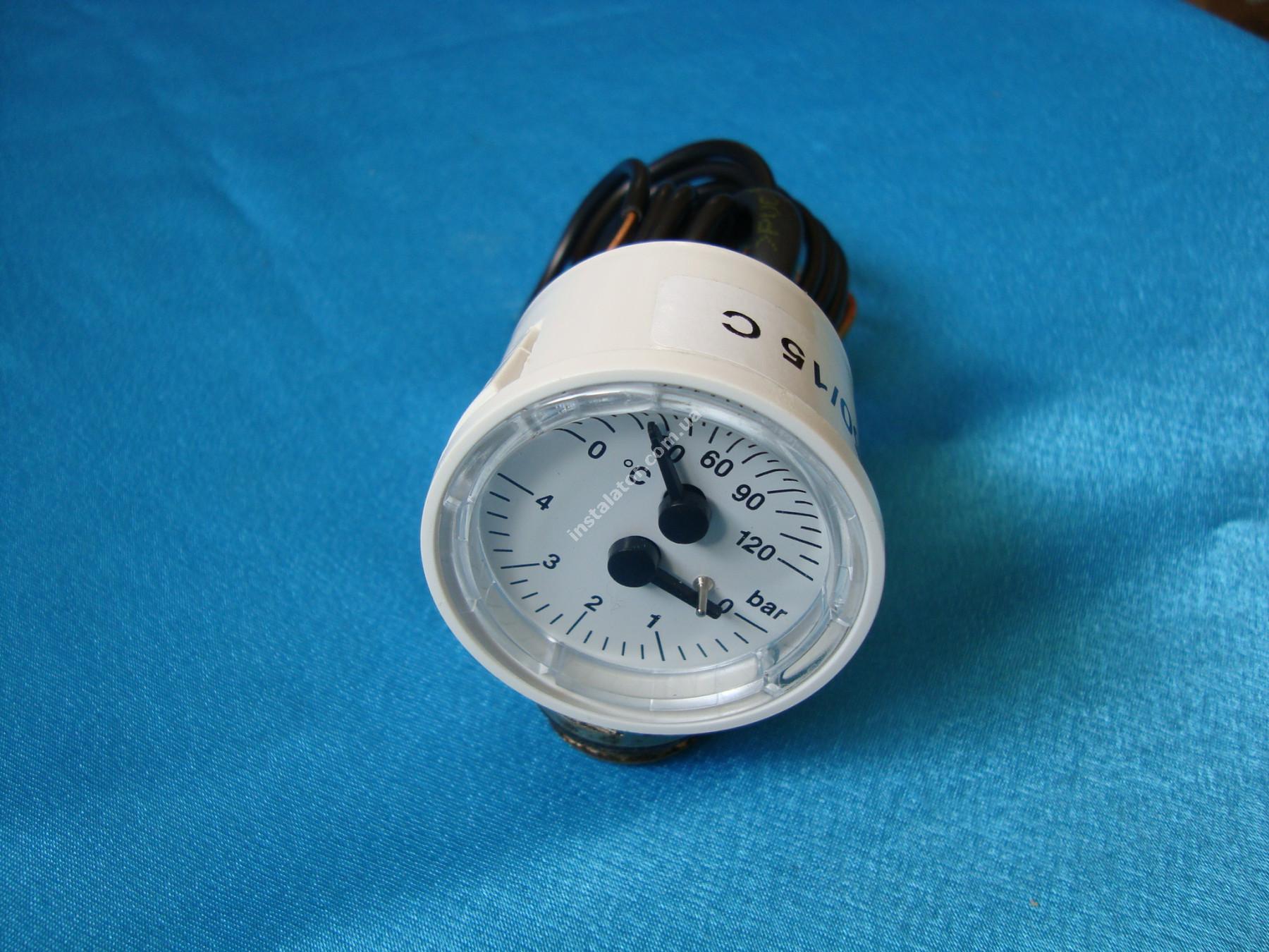 BI1475108 Термоманометр BIASI PARVA M90 full-image-3