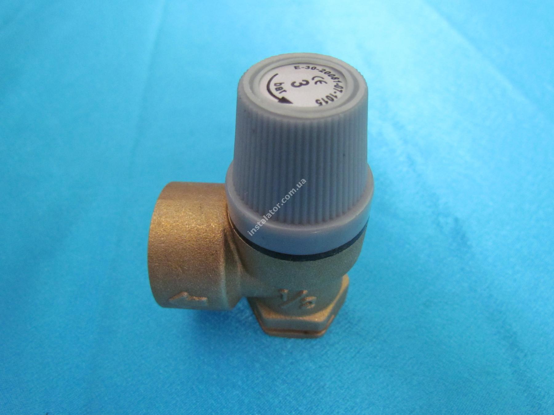 190732 (аналог) Запобіжний клапан  VAILLANT Pro/Plus 3 bar full-image-2