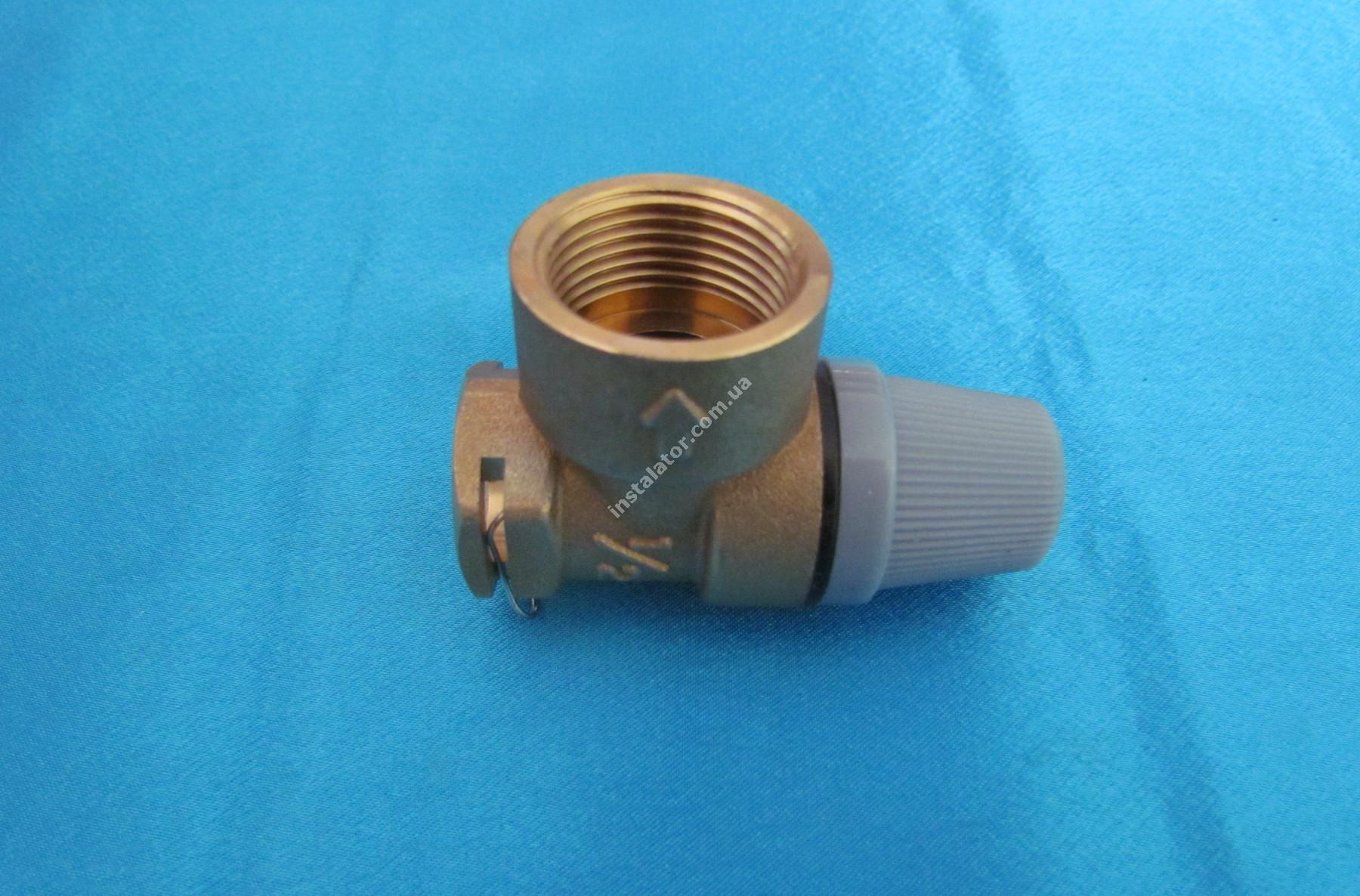 190732 (аналог) Запобіжний клапан  VAILLANT Pro/Plus 3 bar full-image-1