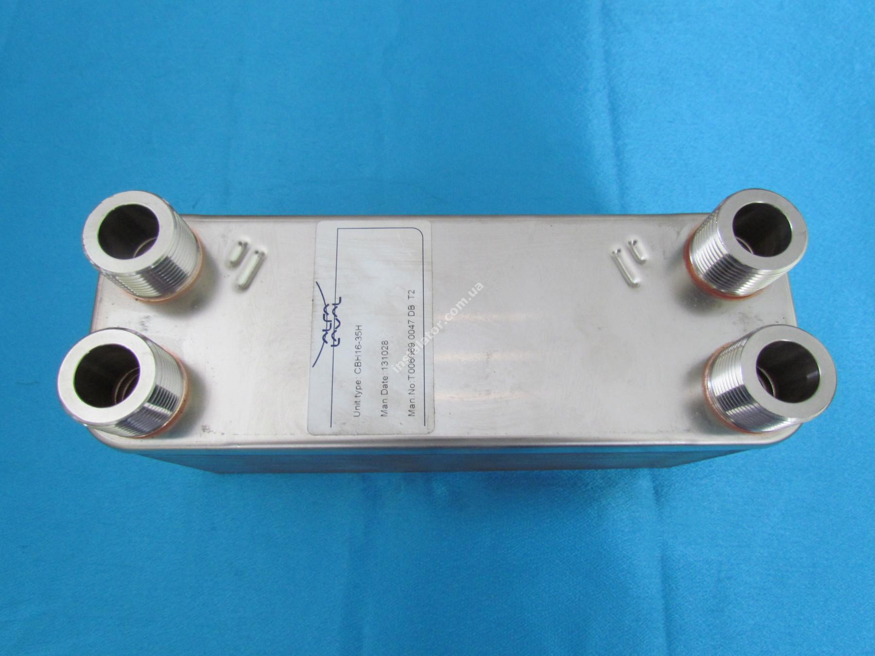 Теплообмінник ГВП Alfa Laval 35 пластин full-image-1
