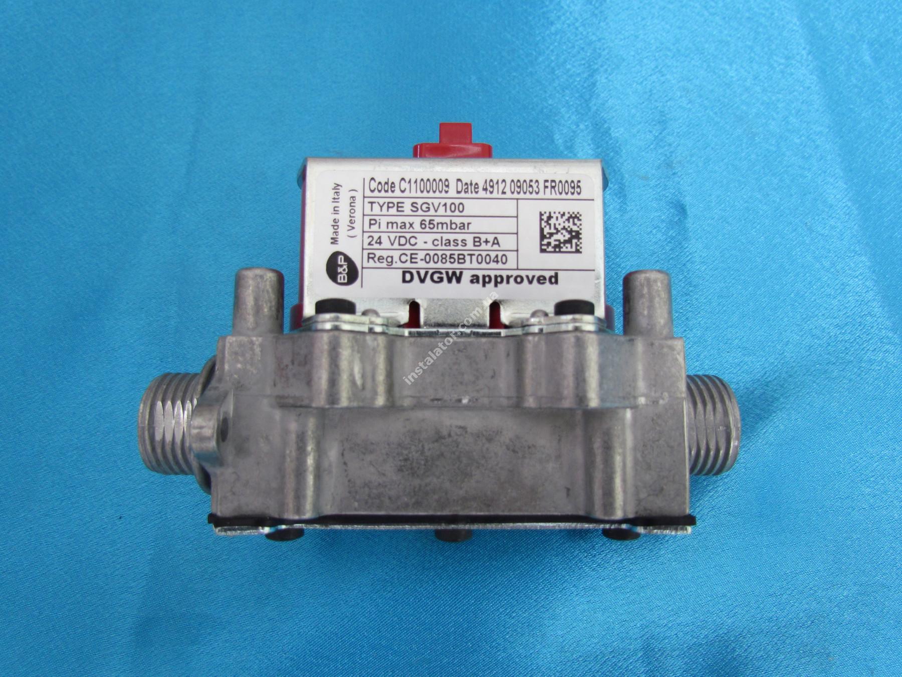 39841320 Газовый клапан Ferroli Domiproject D, Domitech D, FerEasy D 24-32 кВт. full-image-0