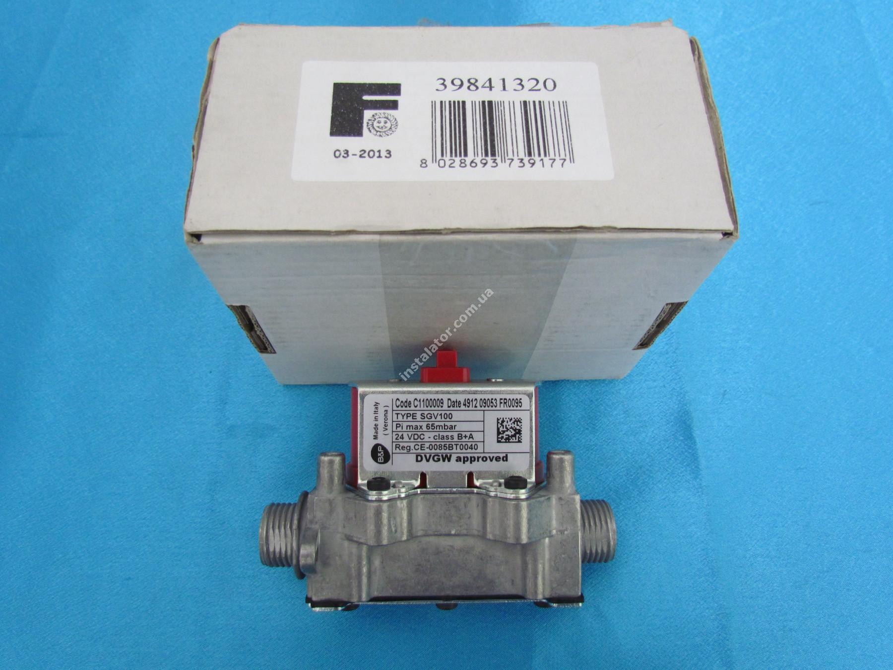 39841320 Газовый клапан Ferroli Domiproject D, Domitech D, FerEasy D 24-32 кВт. full-image-1