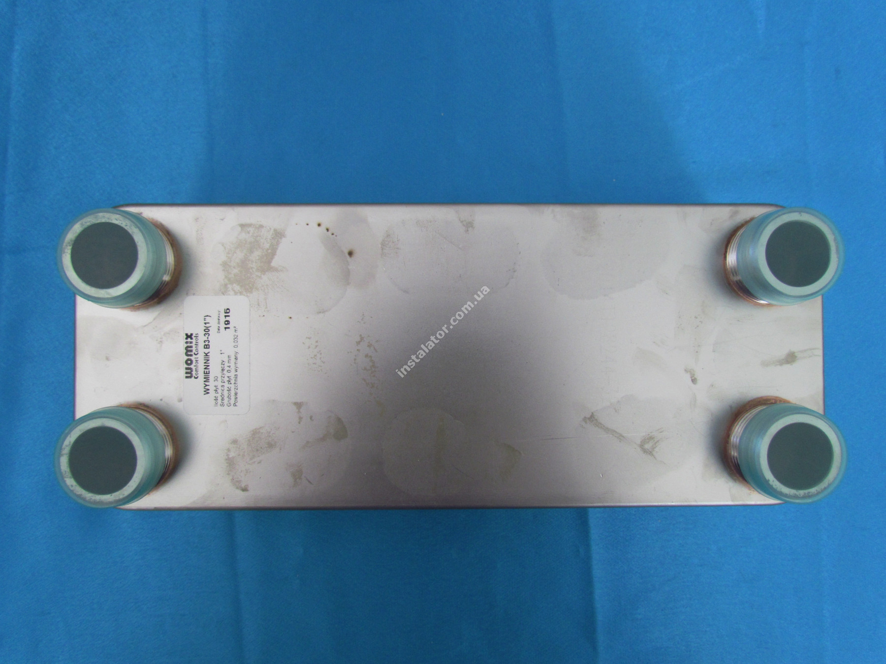 Теплообмінник Womix B3 - 30 пластин full-image-1
