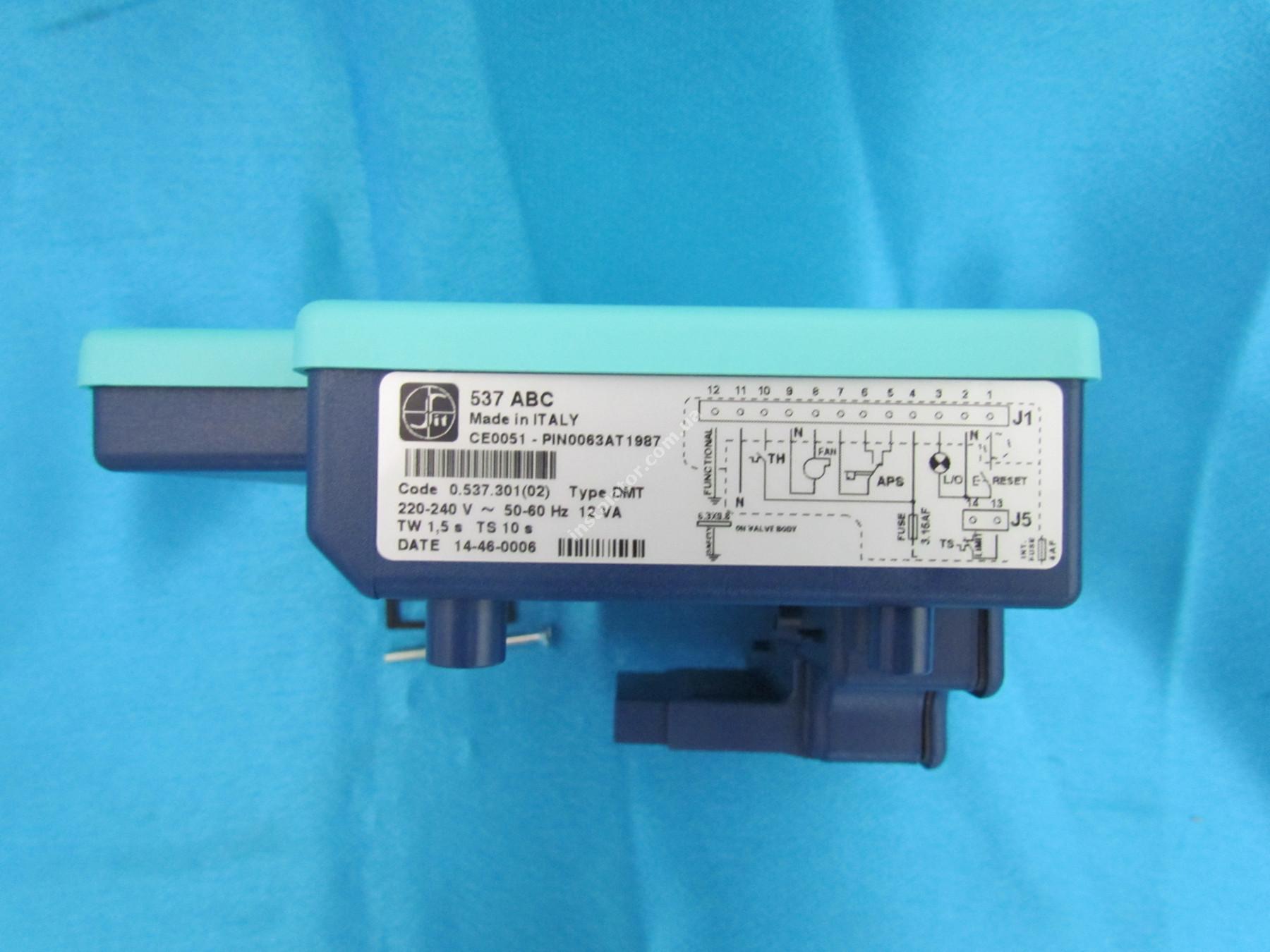 0.537.301(52002490) Плата розпалу SIT 537 ABC  для газових клапанів SIGMA 840, 845, 848 full-image-3