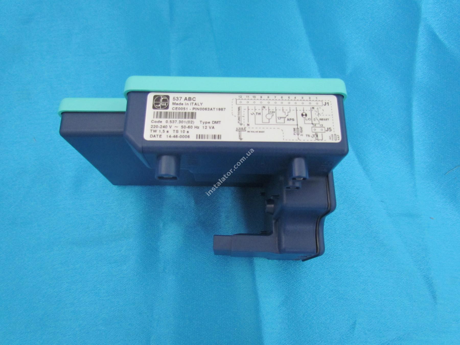 0.537.301(52002490) Плата розпалу SIT 537 ABC  для газових клапанів SIGMA 840, 845, 848 full-image-0