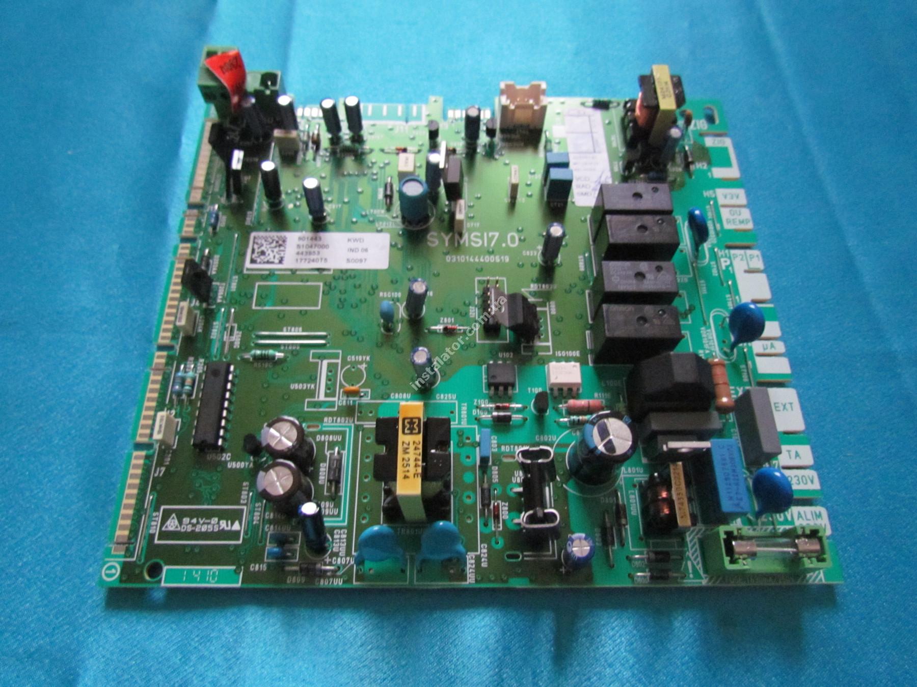 S1047000 Плата керування (основна) Saunier Duval ThemaClassic, Isofast, Combitek full-image-2