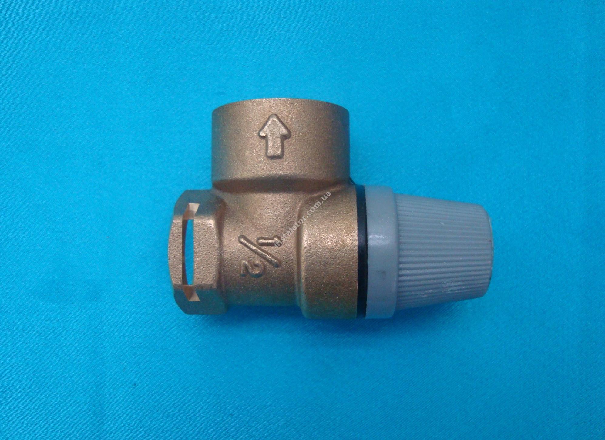 190732 (аналог) Запобіжний клапан  VAILLANT Pro/Plus 3 bar