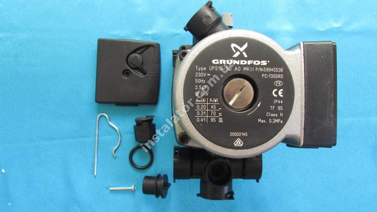 R20002906 Циркуляційний насос BERETTA Ciao/Smart Grundfos UPS 15-50