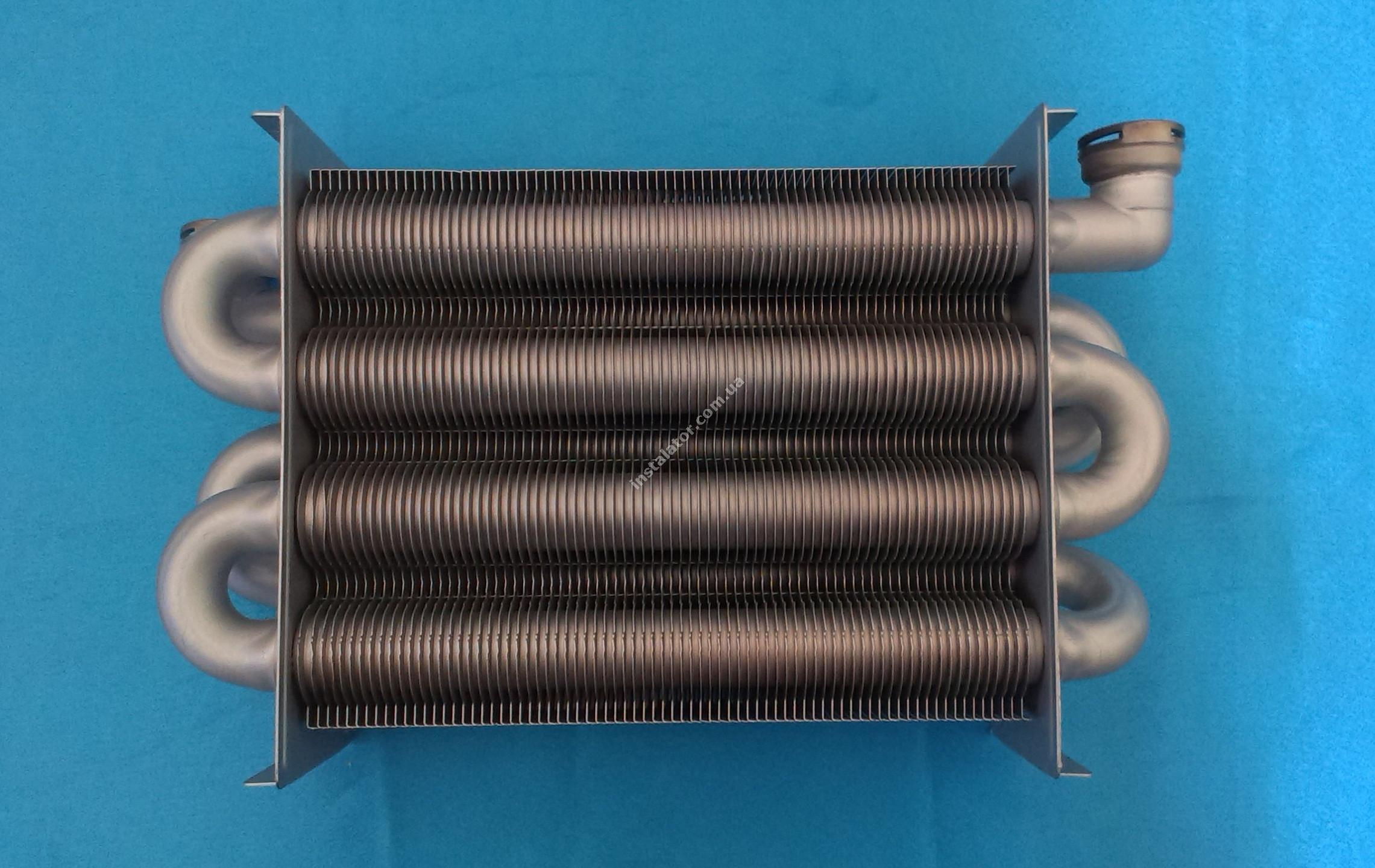 65100425 Теплообмінник первинний ARISTON Uno (турбо)