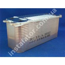 0020025041 Теплообменник  вторичный  (ГВП) Vaillant turboTEC Plus (35 пластин)