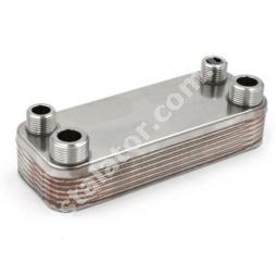 4700900002 Теплообмінник вторинний ГВП 12 пластин  SOLLY Comfort