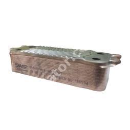 0020038572 (аналог) Теплообмінник вторинний ГВП 18 пластин VAILLANT/SWEP